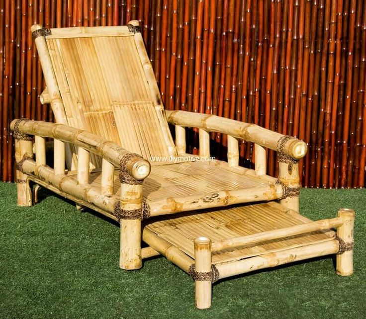 Creative Ideas with Bamboo : bamboo recliner chair - islam-shia.org
