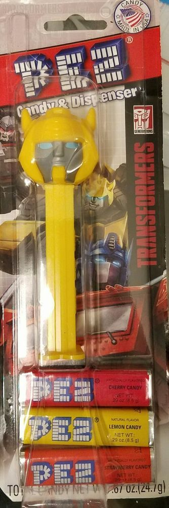 Hasbro TRANSFORMERS  Bumblebee Pez Dispenser