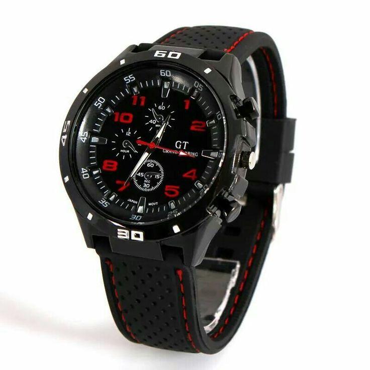 Watch black & little red