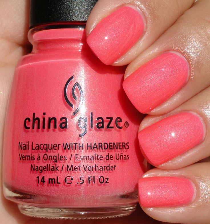 Also Known As...: China Glaze Summer Neons Collection 2012. Pink Plumeria. I need it.