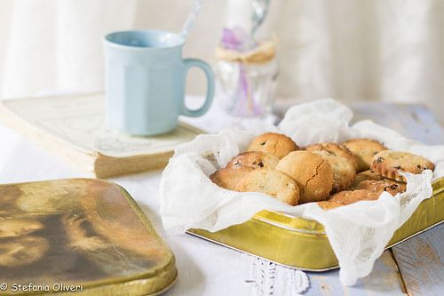 biscotti light ai mirtilli