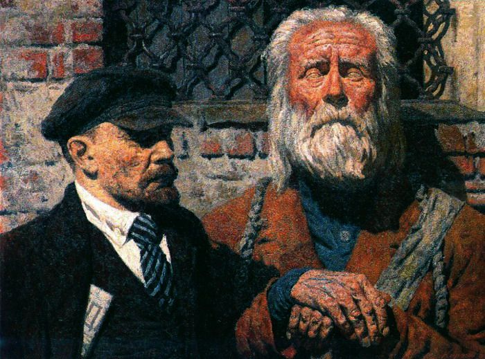 Коржев-Чувелев, Гелий Михайлович. Беседа 1980-85 (700x519, 173Kb)