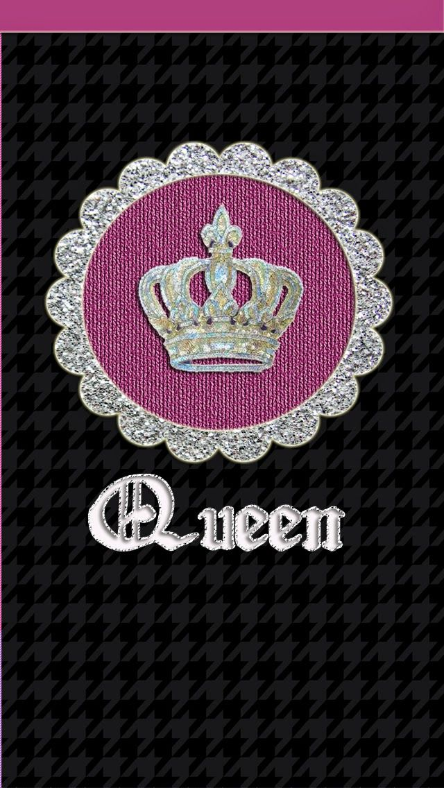 Queen crown wallpaper