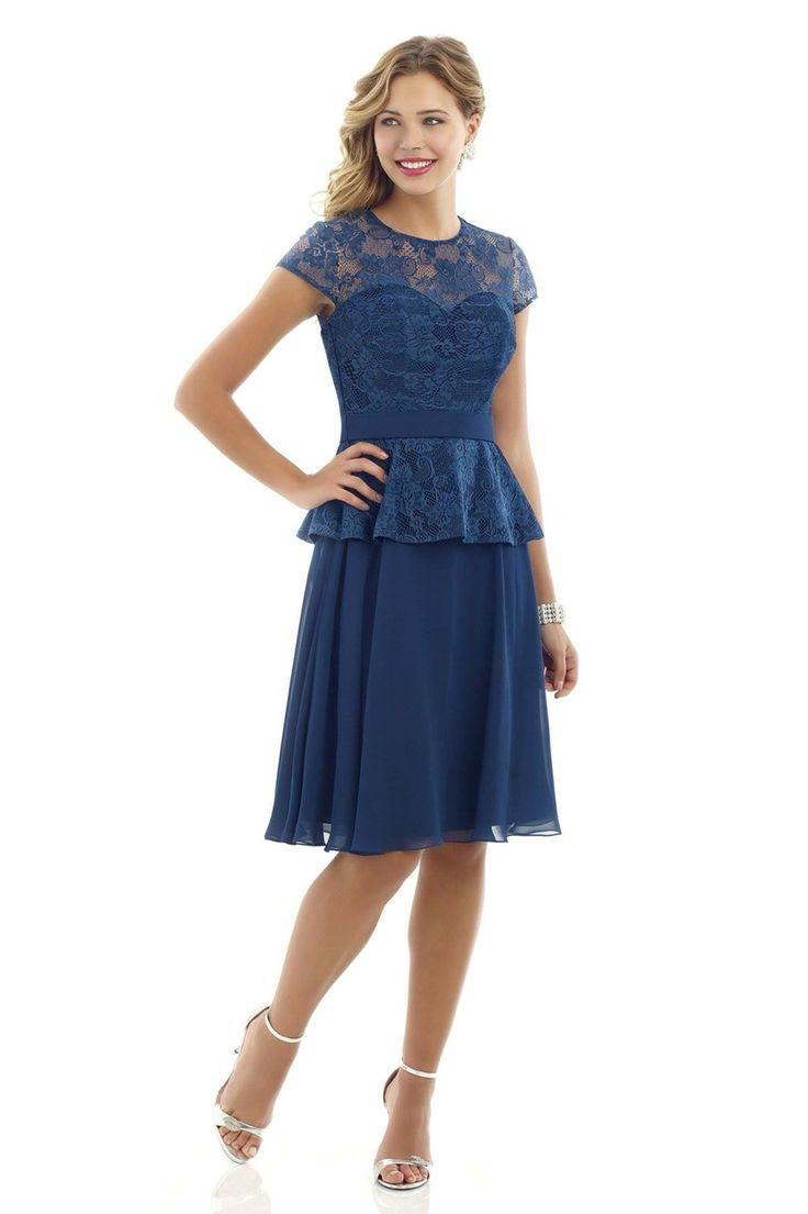 Best 25 peplum bridesmaid dresses ideas on pinterest jjs house blue lace detailed peplum bridesmaid dress available in a range of colours ombrellifo Images