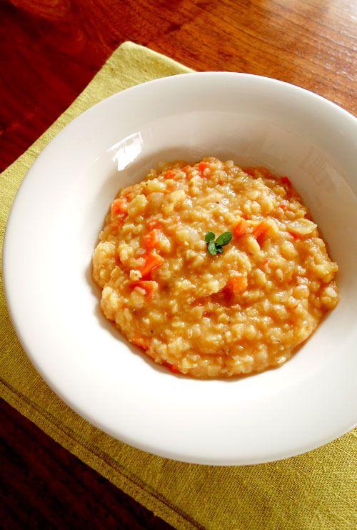 ◇赤レンズ豆とトマトのスープ◇
