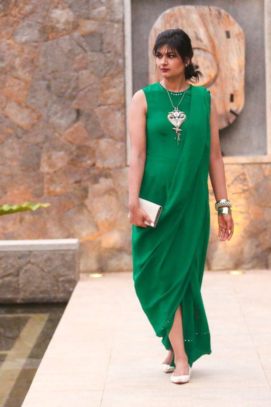 rashmi verma saree gown