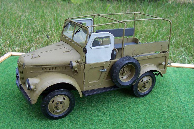 GAZ 69   Mały Modelarz