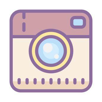Instagram App Logo Aesthetic | Snapchat icon, App icon ...