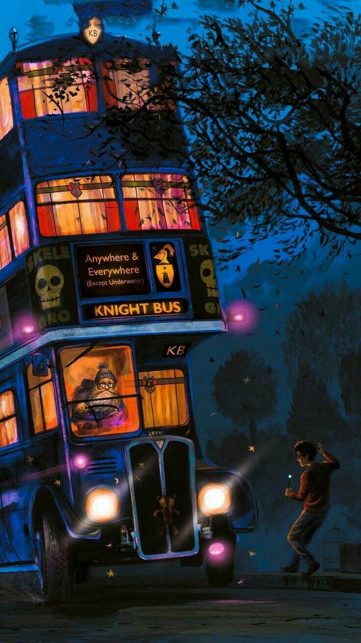 Knight Bus Hogwarts