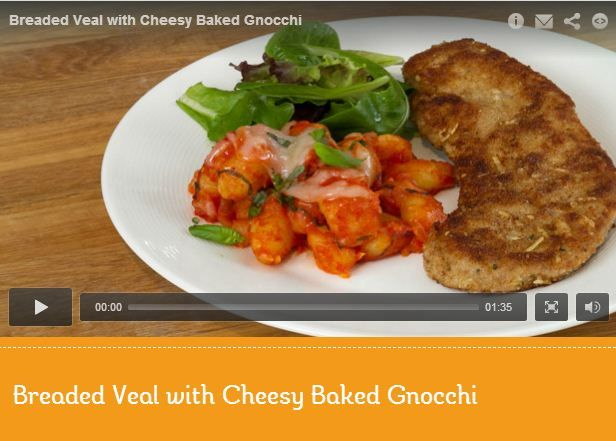 Move over, spaghetti! Gnocchi and veal star in this simple and delicious meal inspired by MasterChef Canada's Pino. Click the photo to see the #recipe come together easily in this video demonstration. http://www.kraftcanada.com/recipes/breaded-veal-cheesy-baked-gnocchi-161469