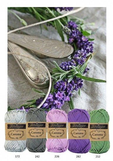 Kleurenpallet Catona - Color Yourlife - Silver HobbyVision- (web)winkel voor scrappen, kaarten en meer!