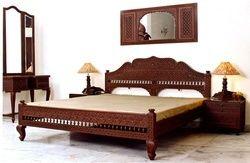 Carved Bedroom Sets, Rajasthani bed, wooden bed , carved bed, fine carved bedroom set, Barmeri carving furniture, bedroom furniture, teak bedroom furniture