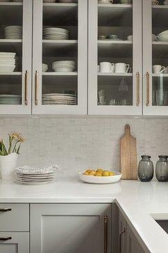 ** hardware - Shaughnessy Residence - transitional - Kitchen - Vancouver - Sophie Burke Design