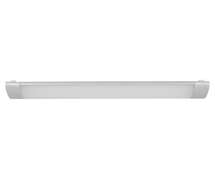 LEDlux Dawn 35W Silver Flush Mount in Cool White