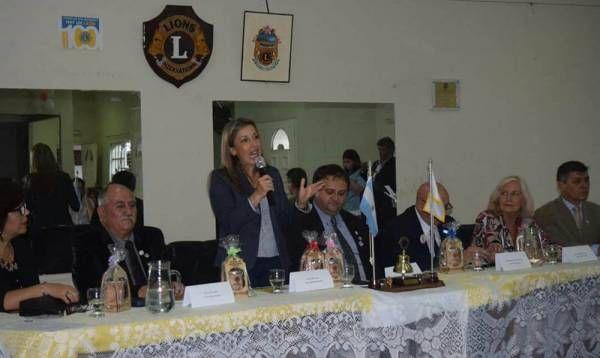 El Club de Leones de Rincón de Milberg festejó su primer aniversario