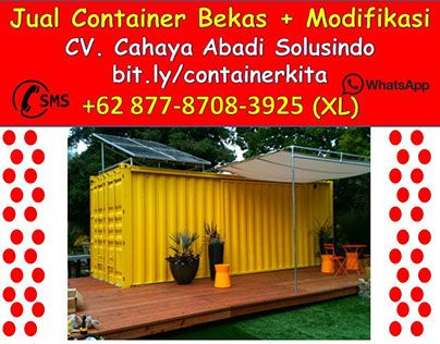 "Check out new work on my @Behance portfolio: ""0877-8708-3925 container cafe gresik 