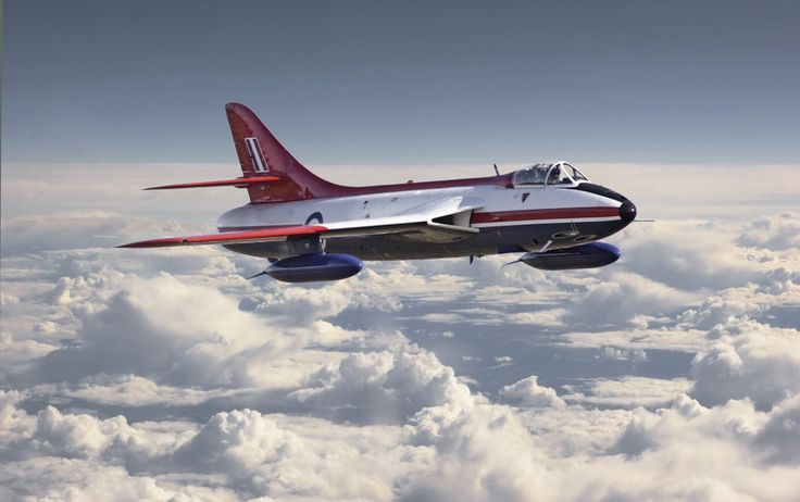 Hawker Hunter - Jet era Portfolio