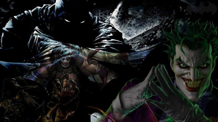 Batman And His Enemies by 19genocide87.deviantart.com on @deviantART