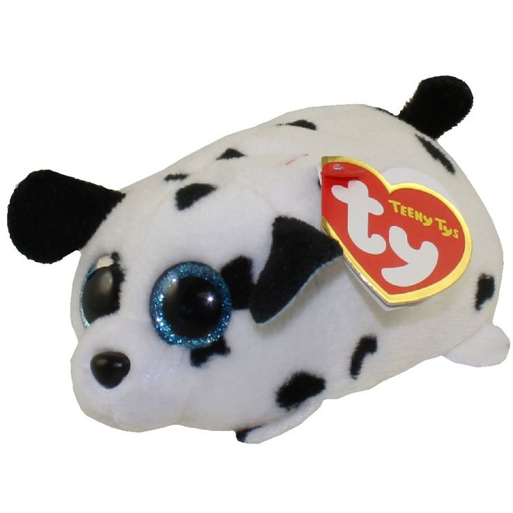 TY Beanie Boos - Teeny Tys Stackable Plush - SPANGLE the Dalamtian (4 inch)