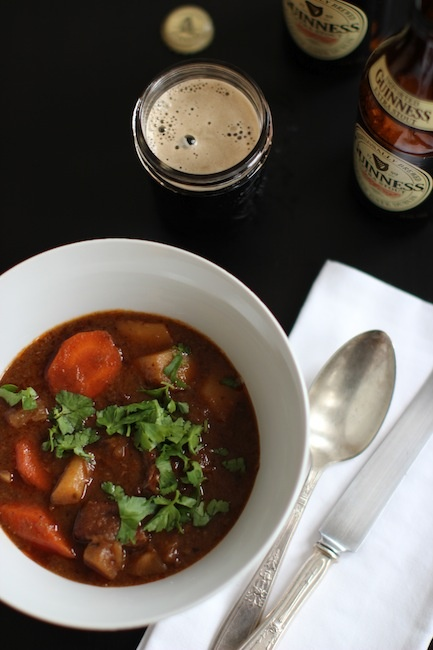 Beef + Guinness StewYears Ago, Beef Recipe, Guinness Beef, Beef Stew, Sleepy Colleges, Colleges Town, Guiness Stew, Guinness Stew, Food Bovine