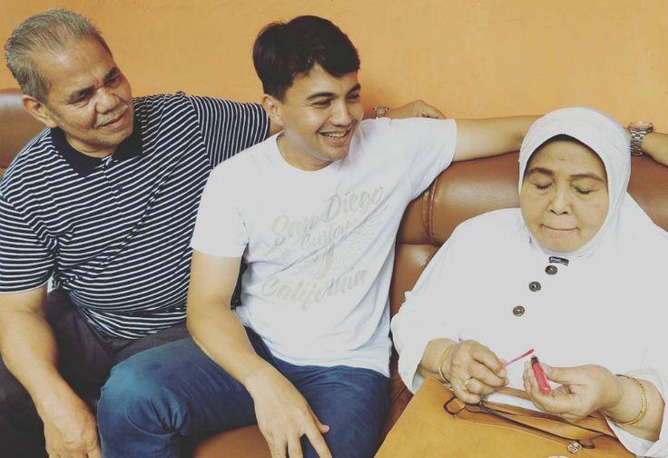 Momen Lucu Sahrul Gunawan dan Ibunda Jadi Sorotan