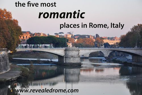 Looking for a romantic spot in Rome... like for a honeymoon or proposal? Here are 5 you haven't thought of!