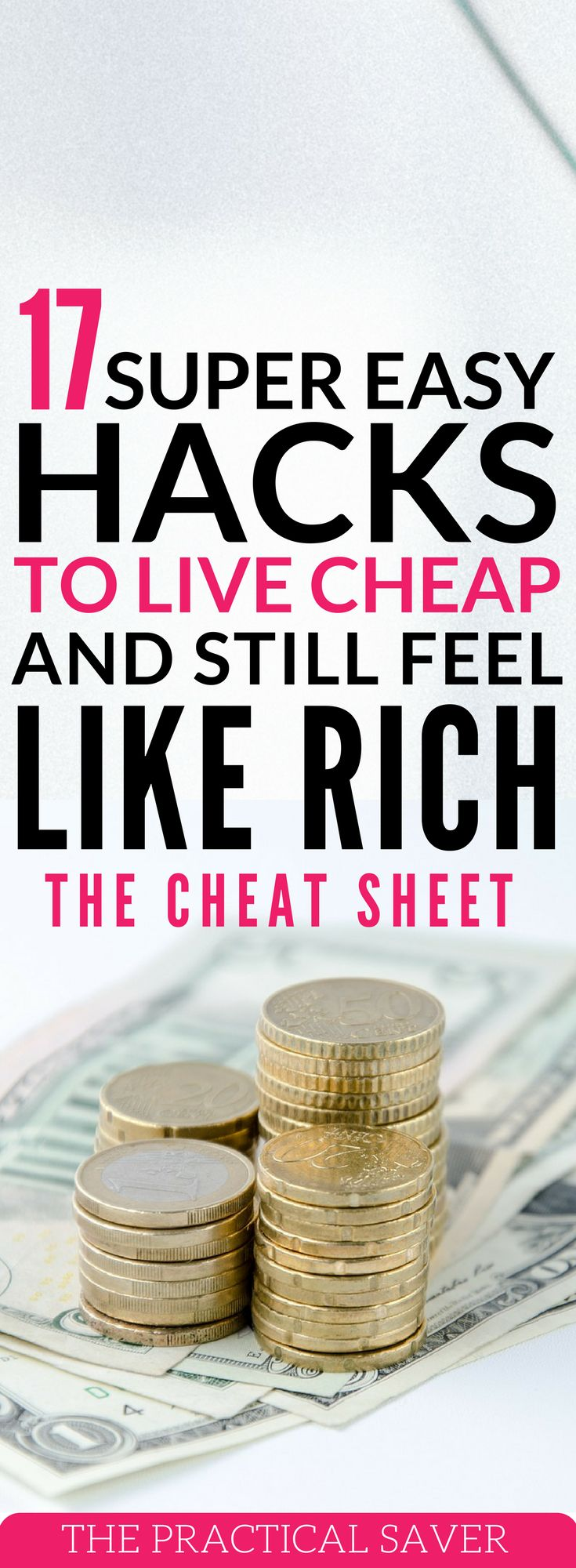 Small hacks can make a big difference in your life. Find out these money saving hacks to help you live cheap but feel rich. money tips l frugal living tips l save extra money l extra cash money hacks l how to save money l free money l pay off debts l debt consolidation l save money for retirement l debt strategies. #moneysavingtips #howtosavemoney #makeextramoney #financialplanning #frugalliving