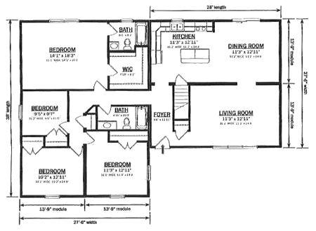 R181542-1 by Hallmark Homes Ranch Floorplan