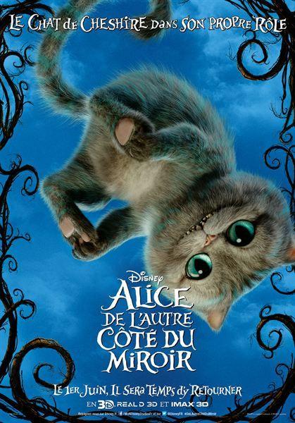 Alice de l'autre côté du miroir - Sortie le 1 juin 2016
