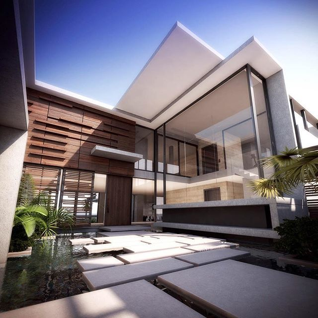 1000 ideas about modern architecture on pinterest architecture architects - Architecture de villa moderne ...
