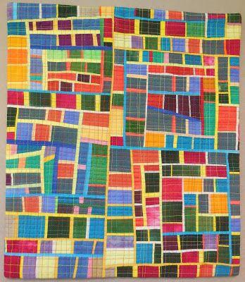 Workshop quilt -- by the teacher: