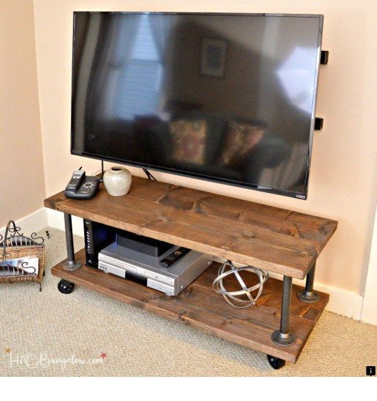 Read More About Tv Arm Mount Simply Click Here To Read More Our Web Images Are A Must See Industrial Tv Stand Tv Stand On Wheels Diy Tv Stand