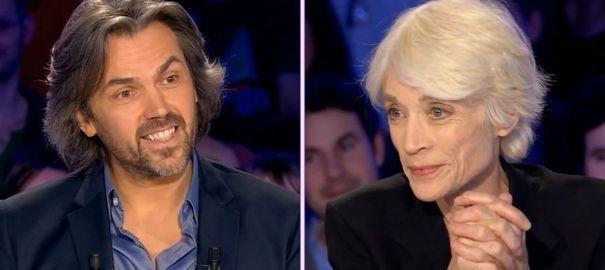 VIDEO. ONPC: Françoise Hardy habille Aymeric Caron pour l'hiver