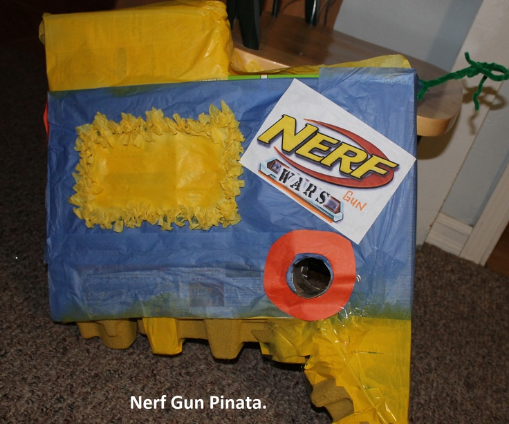 how to make a homemade nerf target