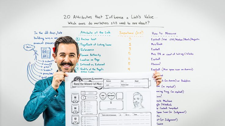 #SEO 20 Attributes that Influence a Link's Value via @mozhq