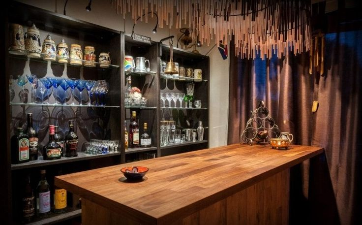 A Gorgeous Bar From Tall And Short BILLY Bookcases The Ones Form Storage Cabinets For Bottles Nothing Much Hacked Here On To Ba