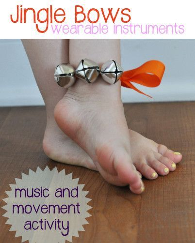 Music and Movement Jingle Bows   play learn love