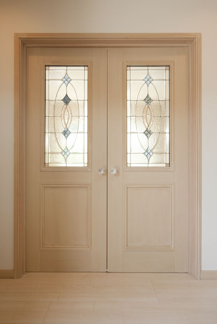 ドアの色やガラスなど細部にまでこだわったリビングドア。 |デザイン|おしゃれ|リビングドア|