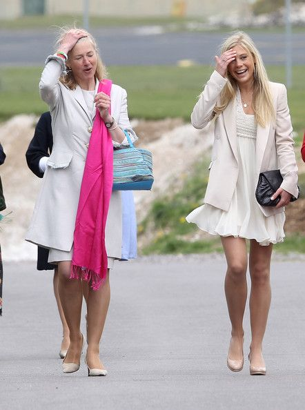 Chelsy Davy Photos Photos - Tiggy Pettifer and Chelsy Davy attends Prince…