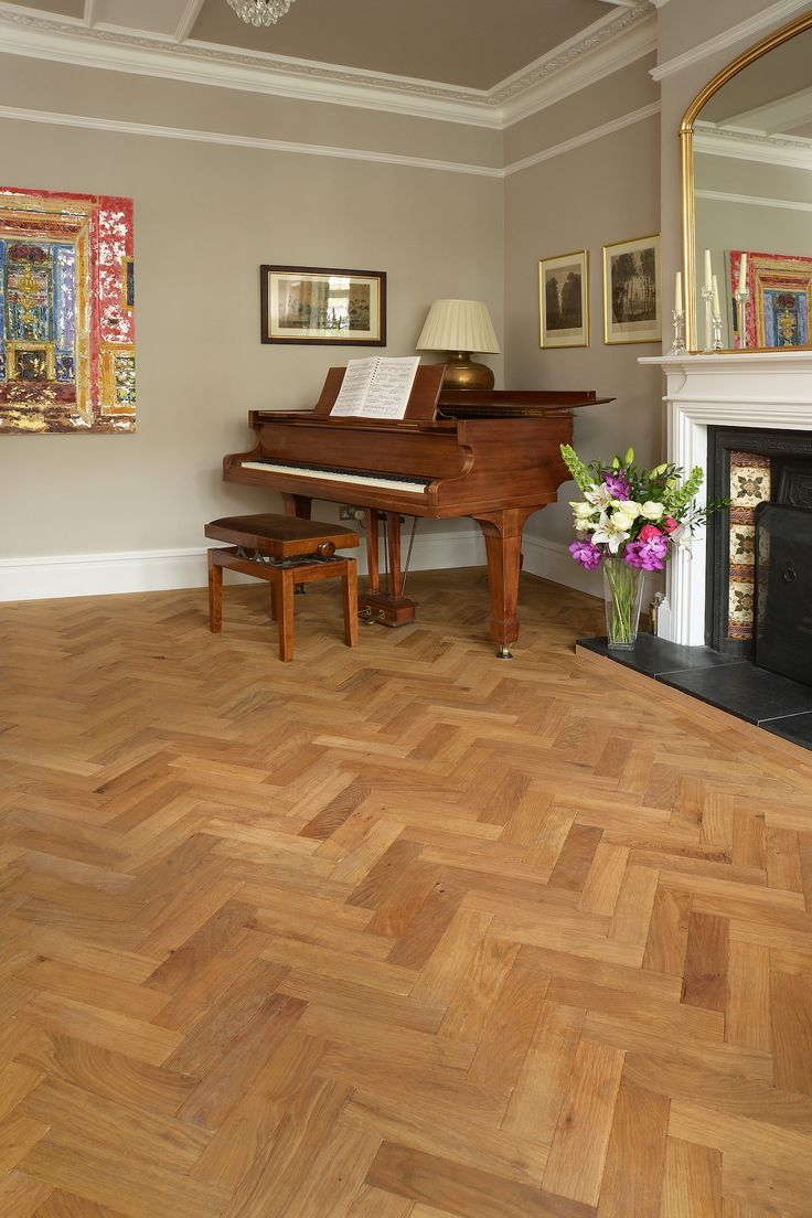 Oak Engineered Aged Parquet Woodblock Pre-oiled Millrun 280 x 70 mm
