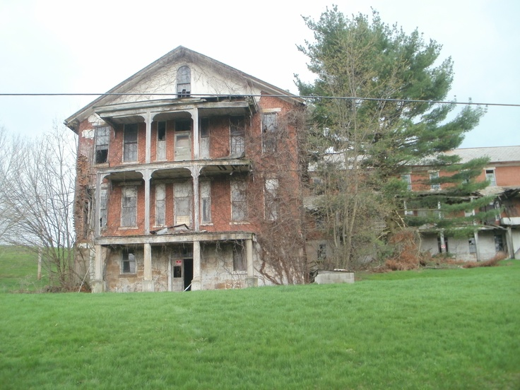 The is the Old County Home in Columbiana County, Ohio. Built in 1859, it stands to be torn down in the near future.  Once a nursing home, old soldiers and sailors home, a homeless shelter, and an insane asylum, they even found shackles in the basement.