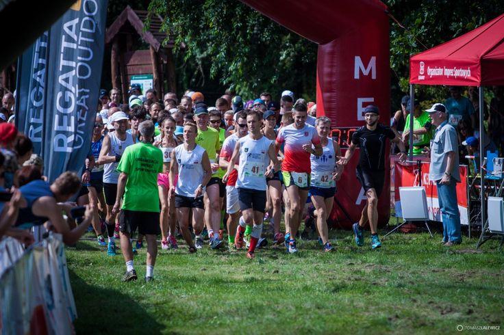 Bezbłędny pomiar czasu sportowców podczas II Wierzchosłowickiego  Leśnego Półmaratonu za pomocą systemu firmy PWSK