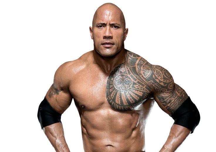 Dwayne the rock johnson tribal tattoos for men tribal