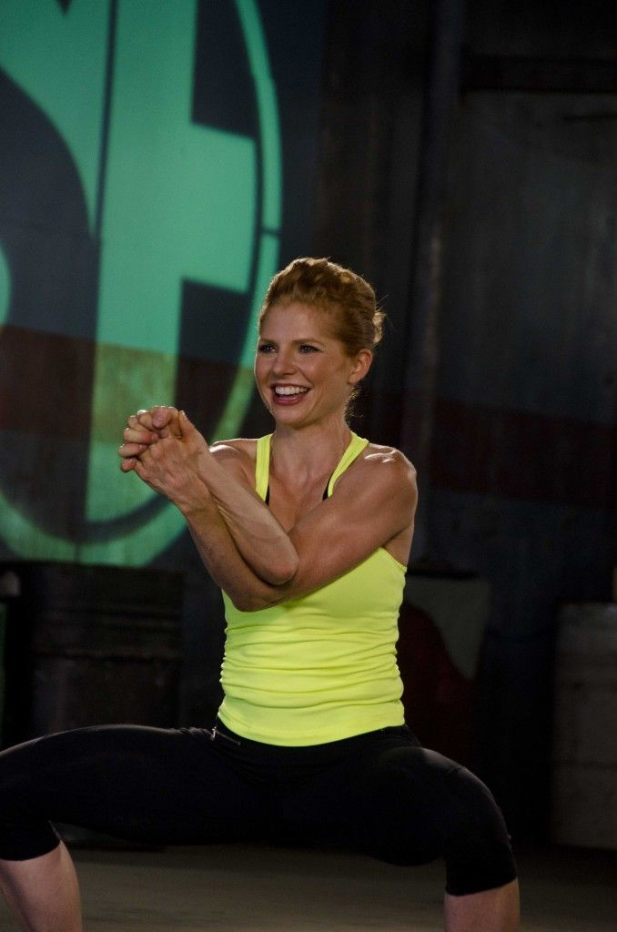 "Sara Haley is a redheaded international fitness expert who has traveled the globe teaching master classes and educating other fitness instructors and trainers. We asked Sara how we can stay fit without sacrificing our wardrobe.  ""I believe if you look the part, you'll feel the part,"" says Haley. ""I'm not saying"