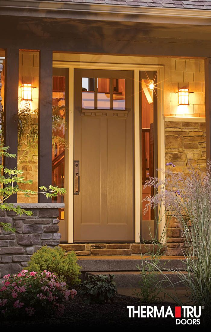 13 best images about classic craft american style for Therma tru entry doors
