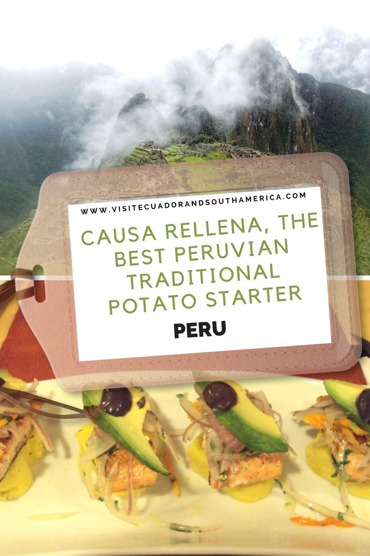 Learn more about this sumptuous traditional Peruvian starter that combines some of the flavours of the Andes.