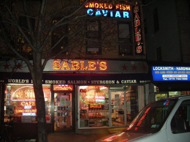 13 best ues food markets images on pinterest new york for Sable s smoked fish