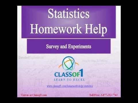 College stats homework help