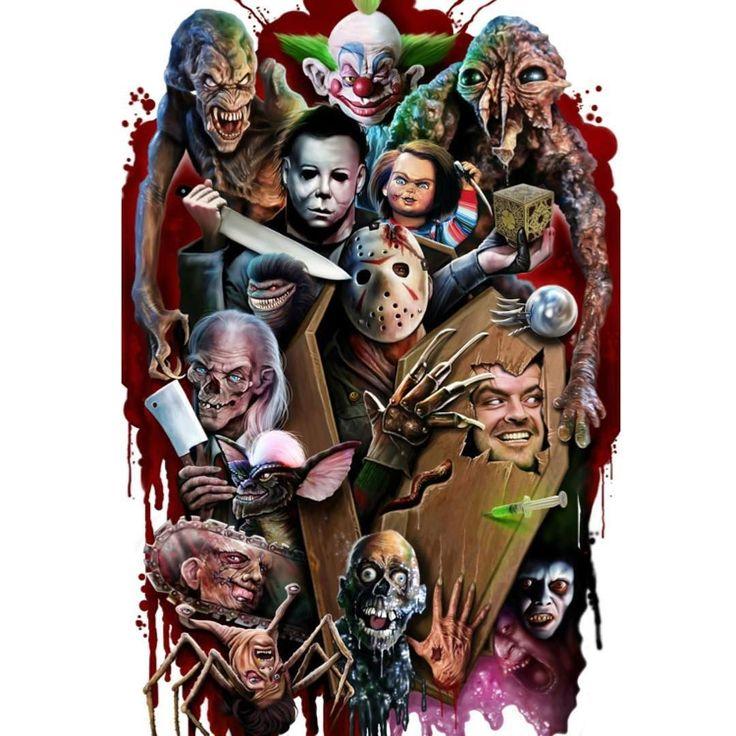 Horror Art, Horror Villains