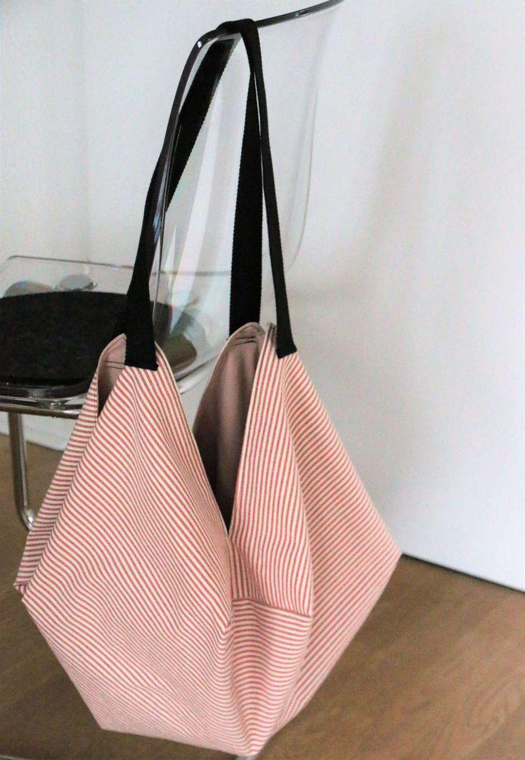 ᐅ Japanische Tasche nähen – Mit dieser Anleitung ganz einfach! – Nina Unicorn